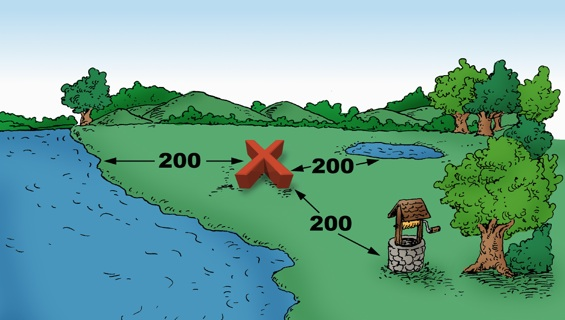 Mortality composting piles should be away from water sources and livestock to prevent the spread of pathogens
