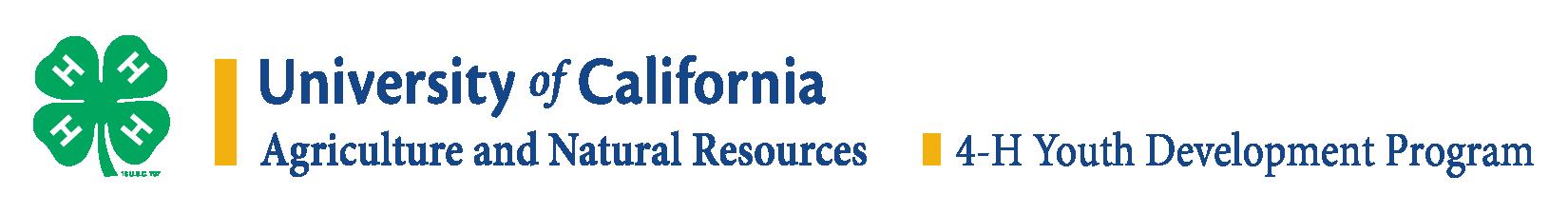 University of Calilifornia 4-H Logo in English