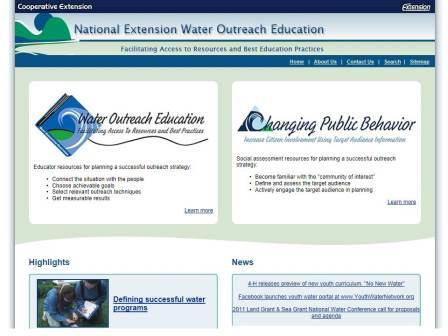 WO and CPB home page