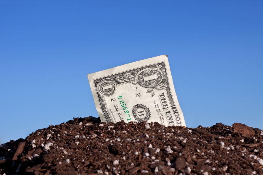 Quality compost can generate hard cash for your business