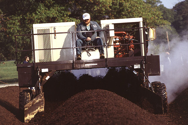 Mechanical aeration of a windrow is just one way of keeping your compost oxygenated