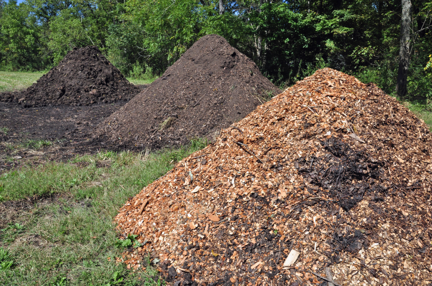 Smaller piles of compostable materials still need to be sited in an environmentally responsible manner