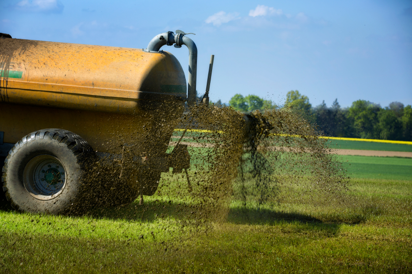 Compost runoff can be collected in a tank and applied to crop fields